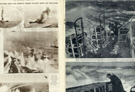 1944 ILLUSTRATED LONDON NEWS WW2 Battle KWAJALEIN Canada Navy PARATROOPS (1845)